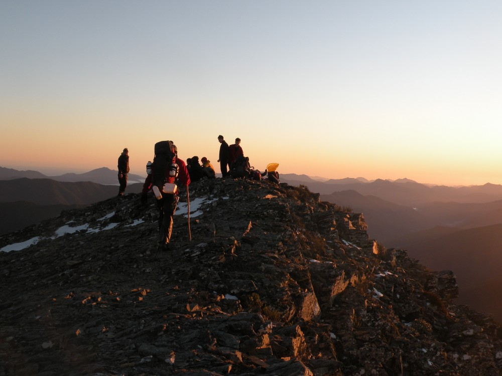 Outward Bound sunrise hike